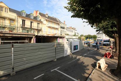 TRAVAUX CENTRE VILLE - BANQUE CIC - PLACE DES COUSTOUS
