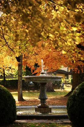 Fontaine du parc de la mairie